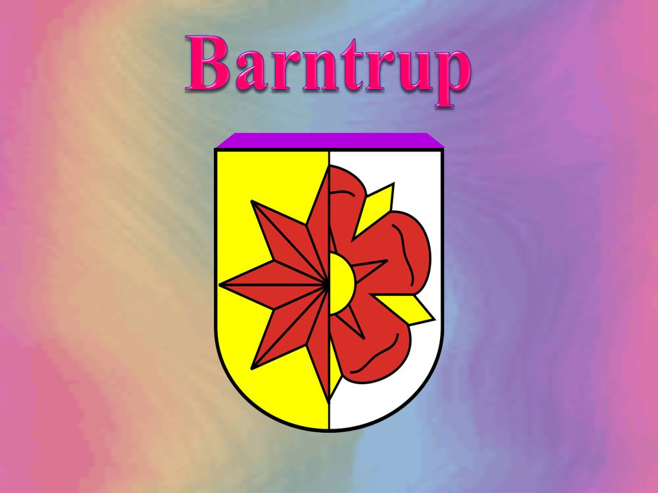 Die 1969 neu gebildete Stadt Barntrup hat mit Genehmigung vom 27.