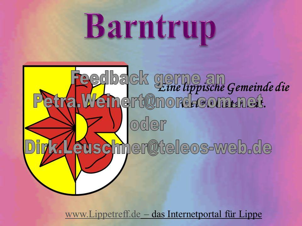 Eine lippische Gemeinde die viel zu bieten hat. www.Lippetreff.dewww.Lippetreff.de – das Internetportal für Lippe