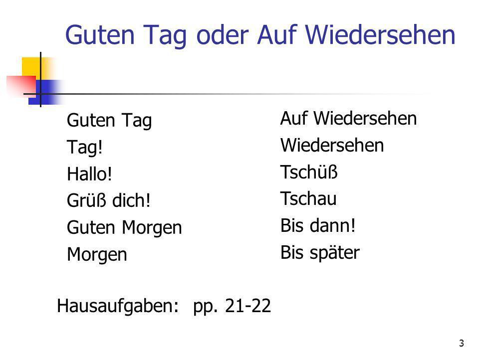 Klaus Hausaufgaben 1.5 sentences about Klaus – on the Klaus notes 2.
