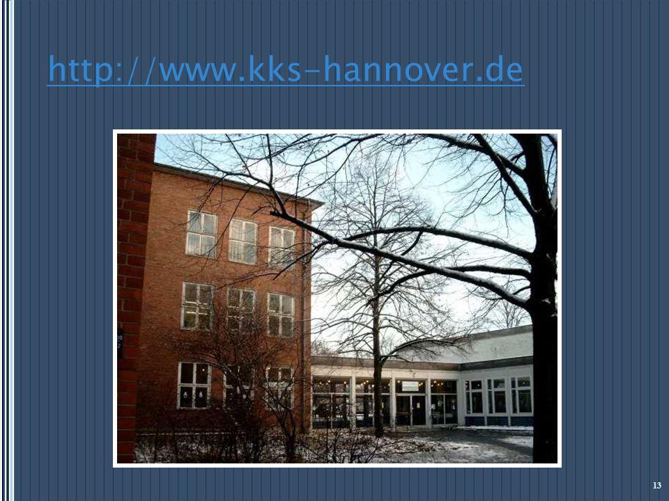 http://www.kks-hannover.de 13