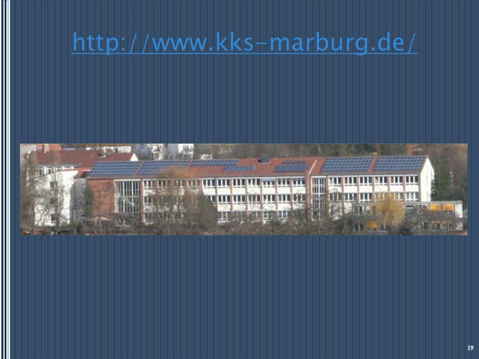 http://www.kks-marburg.de/ 19