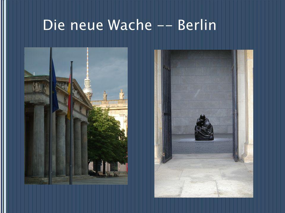 Die neue Wache -- Berlin