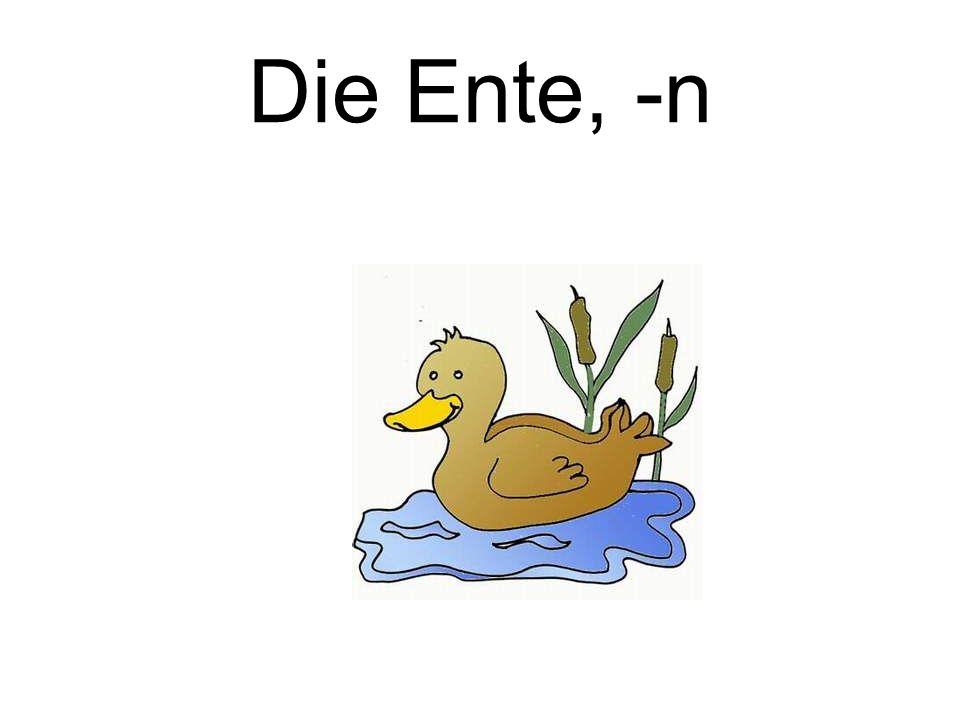 Die Ente, -n