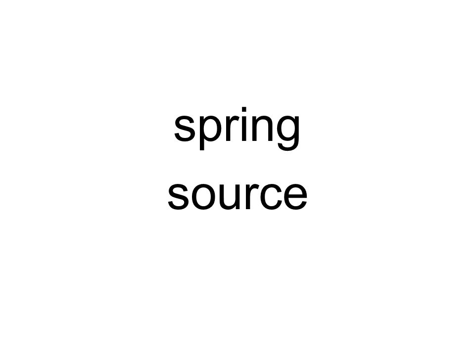 spring source