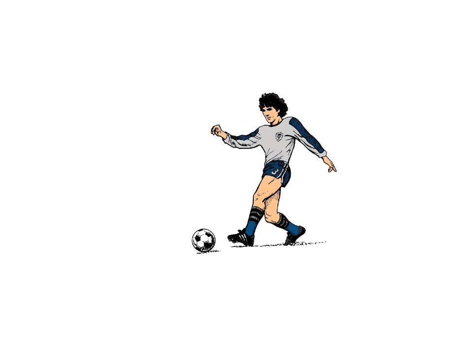 Ich spiele gern Fußball.