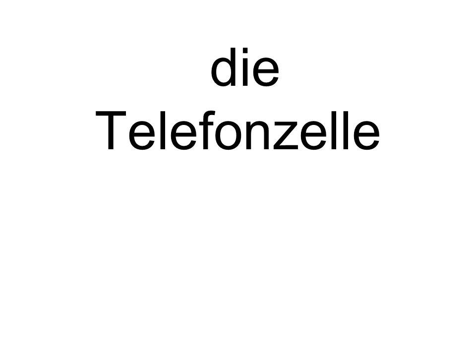 die Telefonzelle