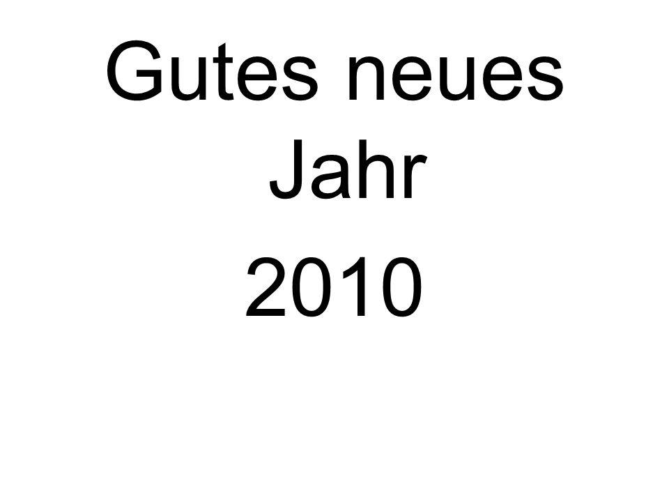 Gutes neues Jahr 2010