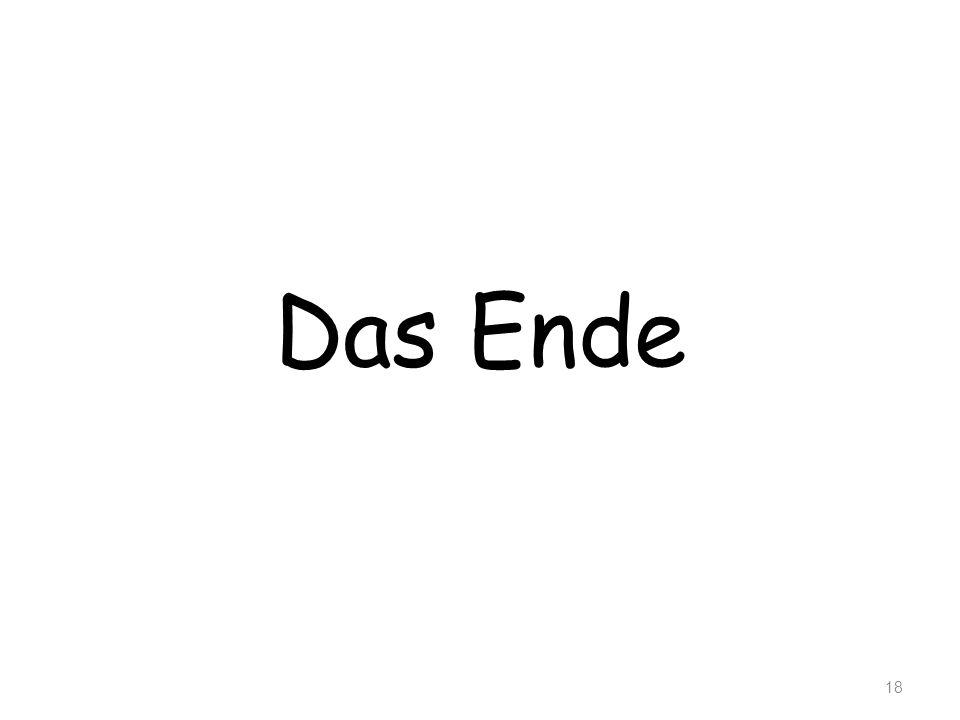 Das Ende 18