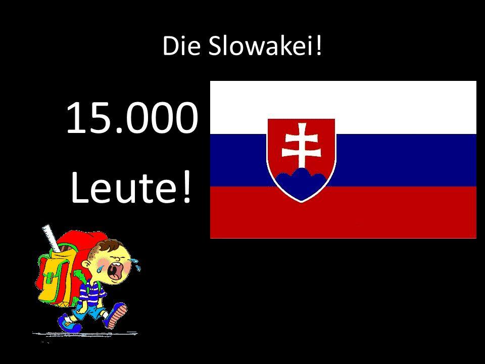 Tscechische Repuplik! 50.000 Leute!