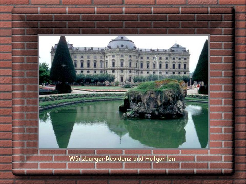 Würzburger Residenz und Hofgarten