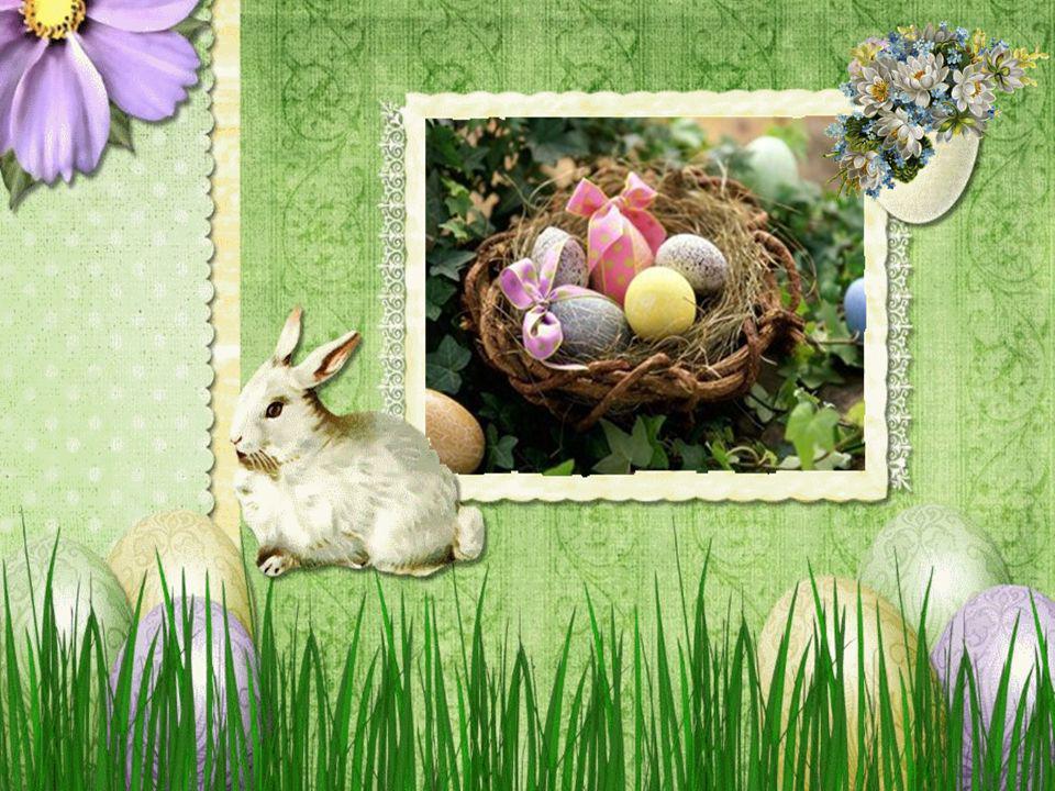 Die Hasenkinder aber konnten es gar nicht erwarten, bis endlich wieder Ostern war und sie ihre Kunst an echten Eiern ausprobieren konnten.