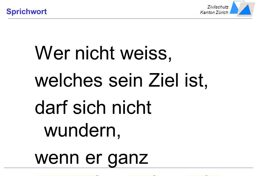 Zivilschutz Kanton Zürich HandzettelLernzielAusbStufenProgrammSinne einsetzen Feedback Lernen wird effizient......wenn es ohne Umwege beginnt...wenn a