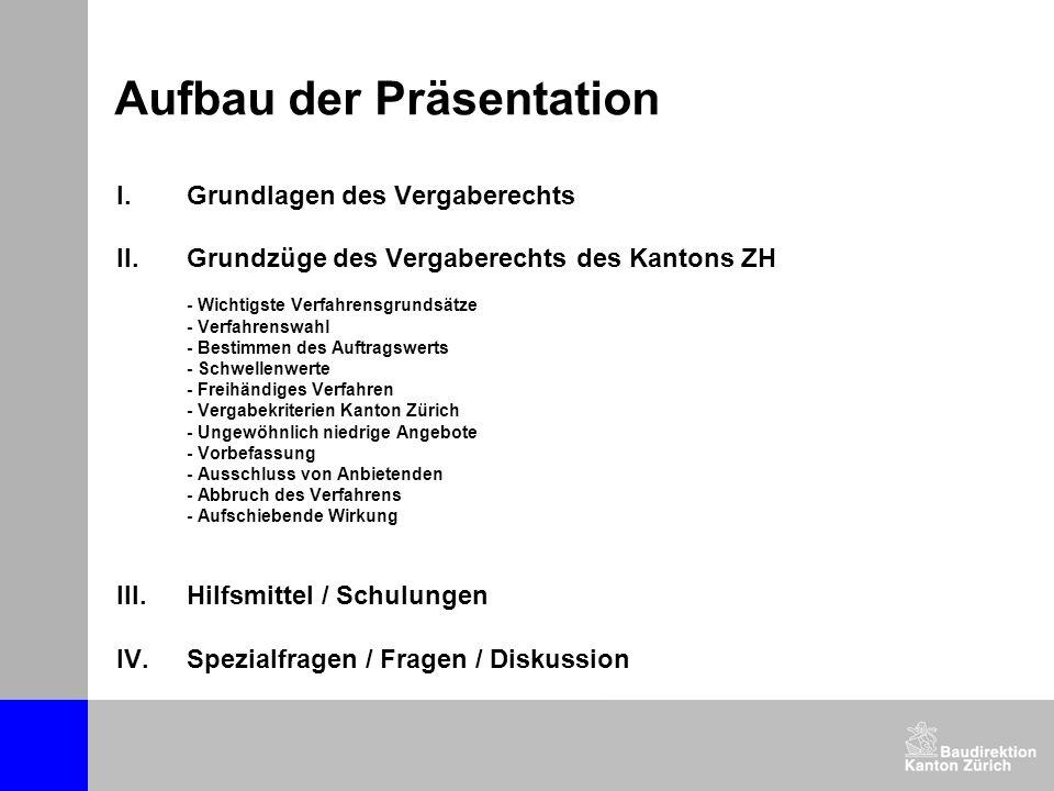 Vergabekriterien Kanton ZH (5) Bewertung des Kriteriums Preis (vgl.