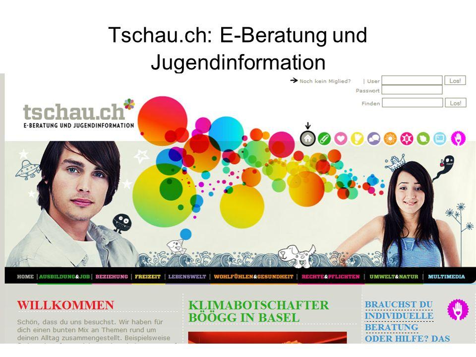 Tschau.ch: E-Beratung und Jugendinformation