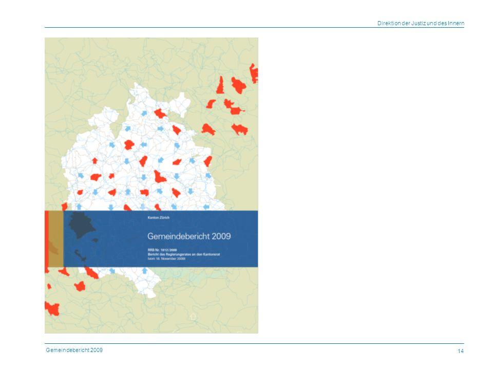 Gemeindebericht 2009 Direktion der Justiz und des Innern 14 Urs Glättli, juristischer Sekretär mbA