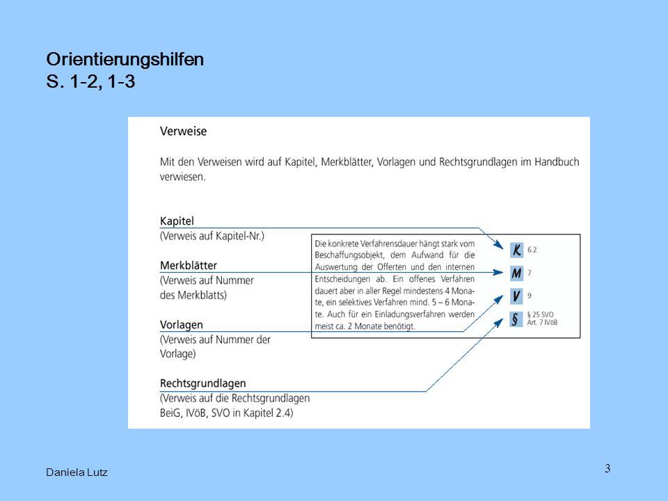 3 Orientierungshilfen S. 1-2, 1-3 Daniela Lutz