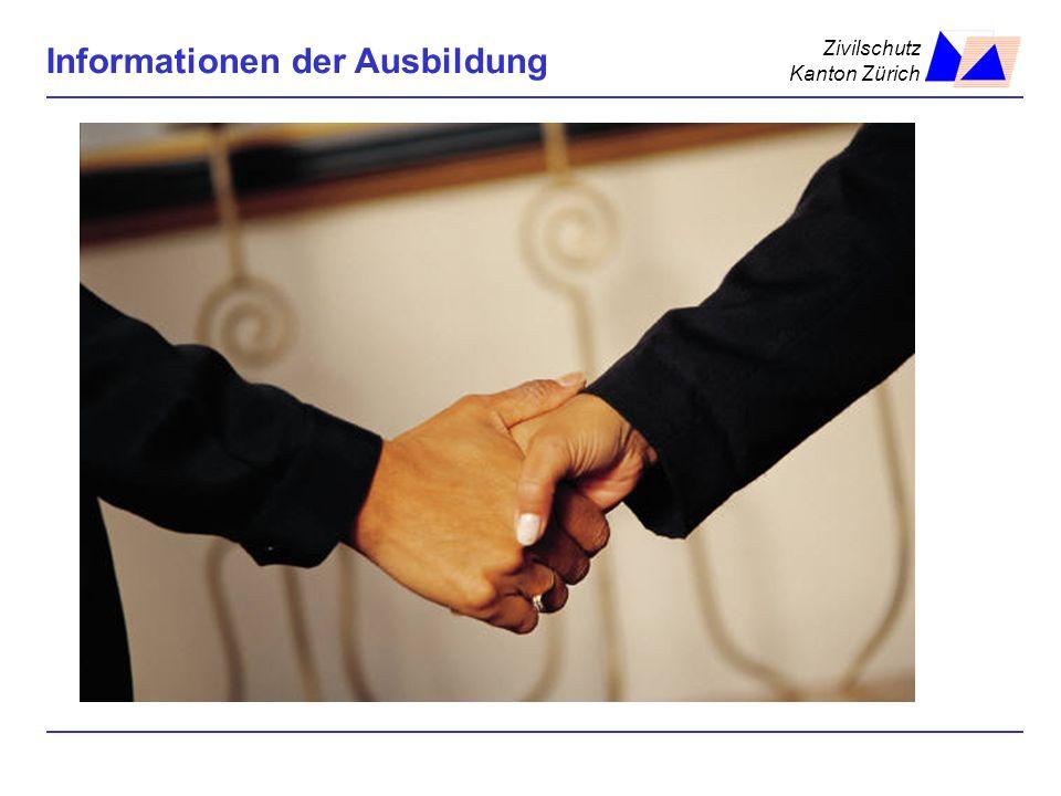 Zivilschutz Kanton Zürich Informationen der Ausbildung