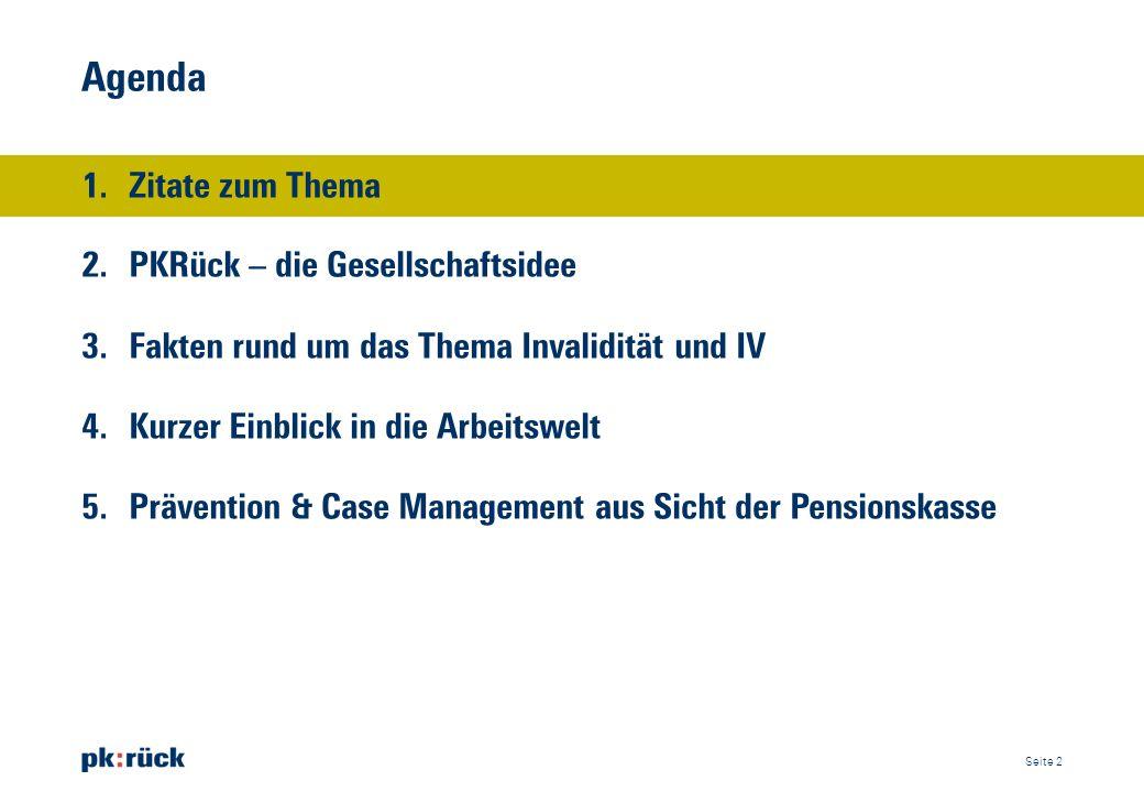 Zitate zum Thema «Jährlich gehen rund 2500 Klagen und Beschwerden beim Sozialversicherungs- gericht des Kantons Zürich ein.