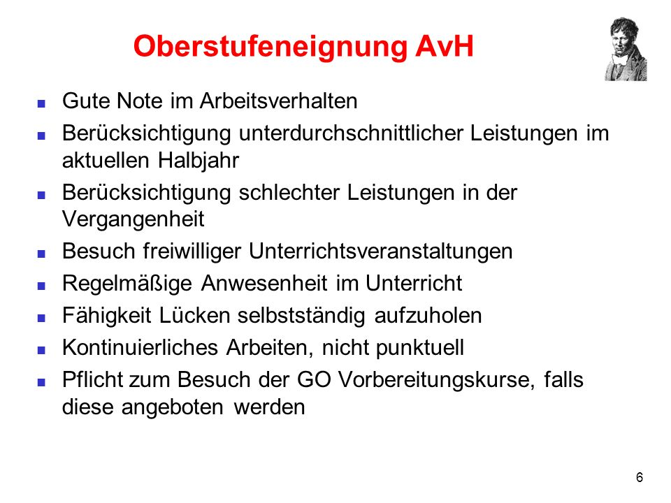 17 Keine Zulassung (2) Aufgabenfeld 1Aufgabenfeld 2Aufgabenfeld 3 Deutsch 10 Geschichte 12 Mathematik 4 Englisch 11 Pol/Wirtsch.