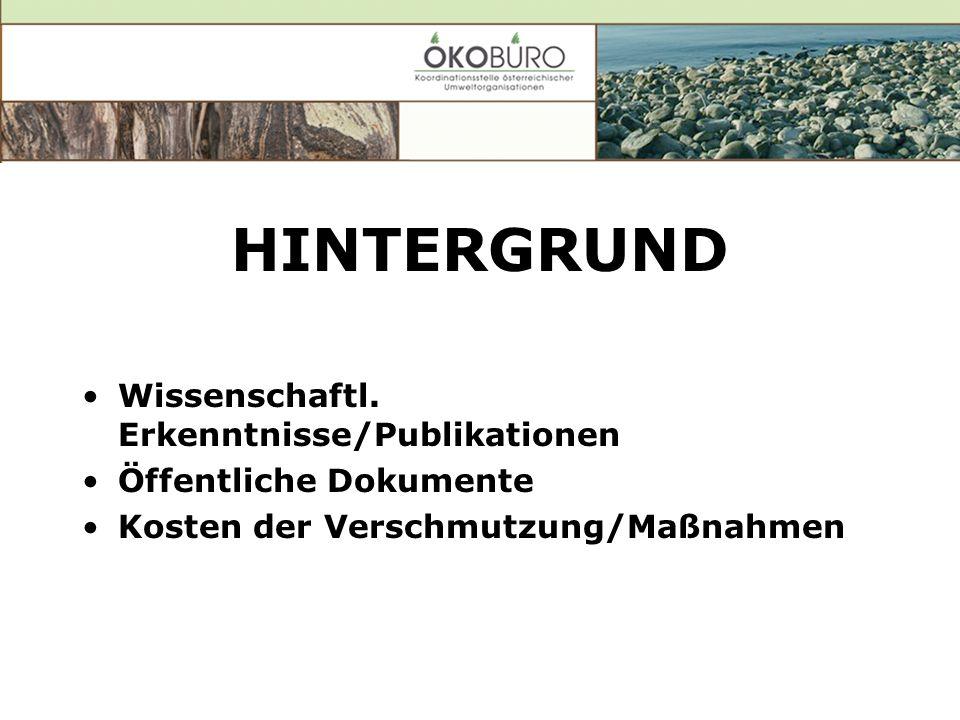 HINTERGRUND Wissenschaftl.