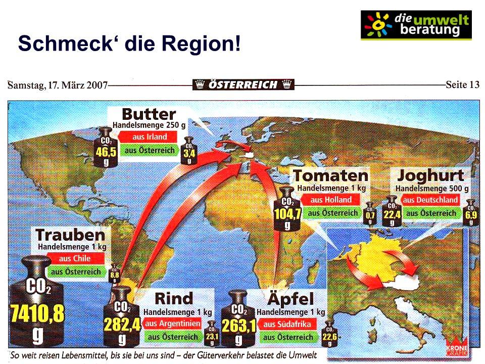 Lehrgang Kommunale/r Klimaschutzexperte/-in Schmeck die Region!