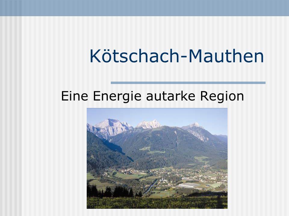 Kötschach-Mauthen Warum wird Kötschach-Mauthen schon heute als Energie autarke Mustergemeinde bezeichnet?