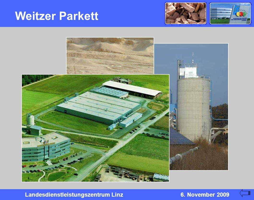 Landesdienstleistungszentrum Linz6. November 2009 Weitzer Parkett