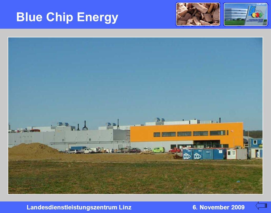 Landesdienstleistungszentrum Linz6. November 2009 Blue Chip Energy