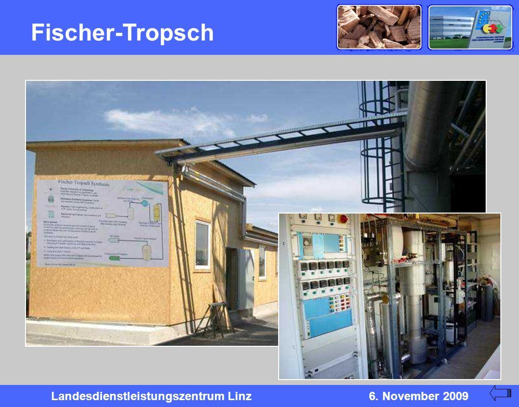 Landesdienstleistungszentrum Linz6. November 2009 Fischer-Tropsch