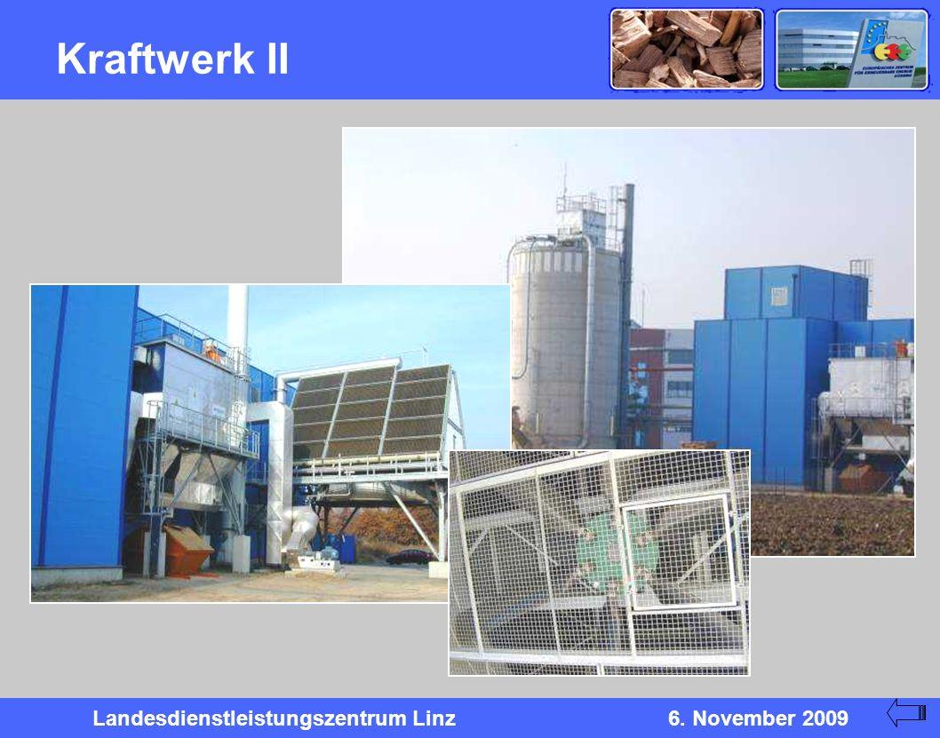 Landesdienstleistungszentrum Linz6. November 2009 Kraftwerk II