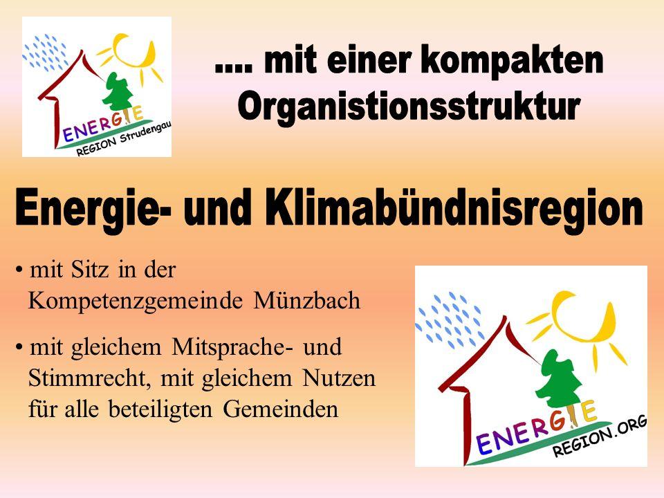 mit Sitz in der Kompetenzgemeinde Münzbach mit gleichem Mitsprache- und Stimmrecht, mit gleichem Nutzen für alle beteiligten Gemeinden
