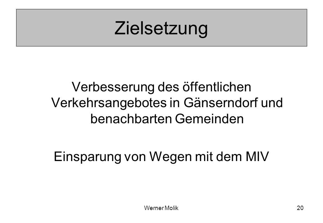 Werner Molik21 Aufgaben des AST Ergänzung zum Öffentlichen Verkehr In Tagesrandzeiten mit geringer oder keiner Bedienung Erschließung von Gebieten außerhalb des ÖV-Netzes