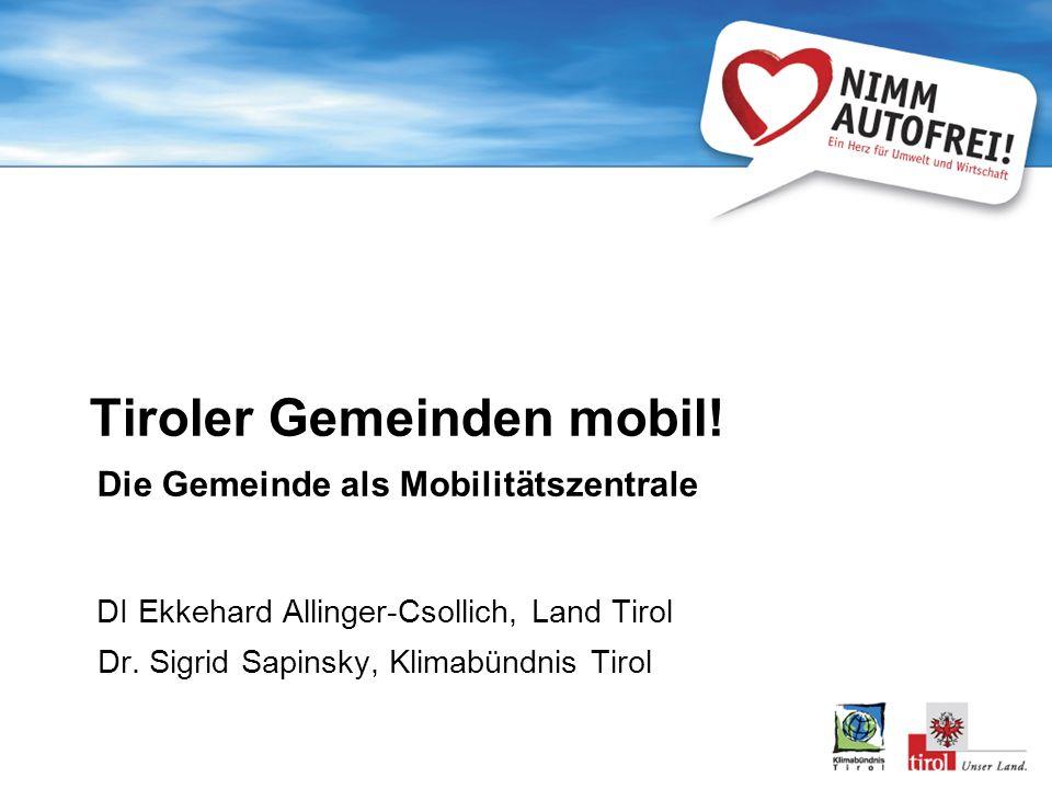 Tiroler Gemeinden mobil.
