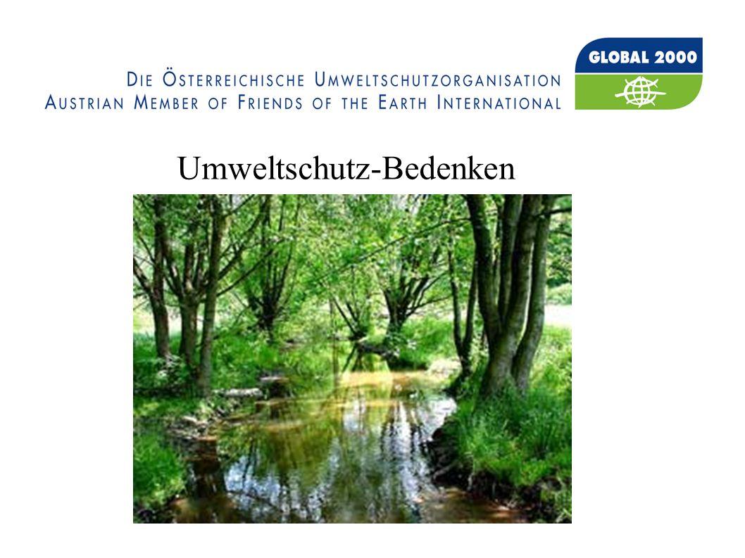 Umweltschutz-Bedenken