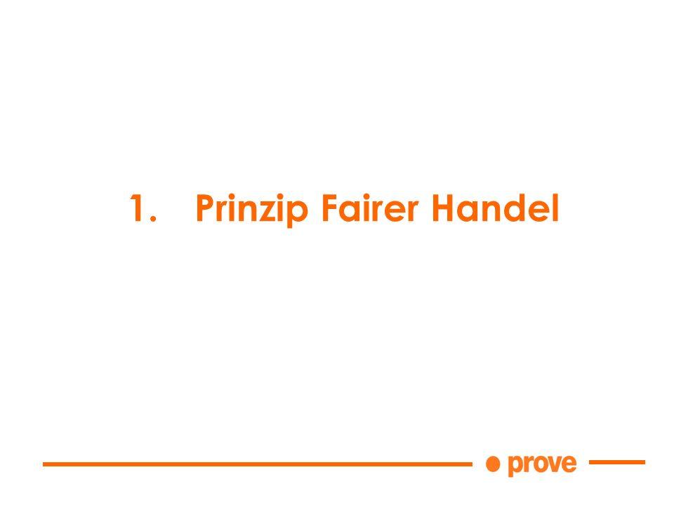 1.Prinzip Fairer Handel