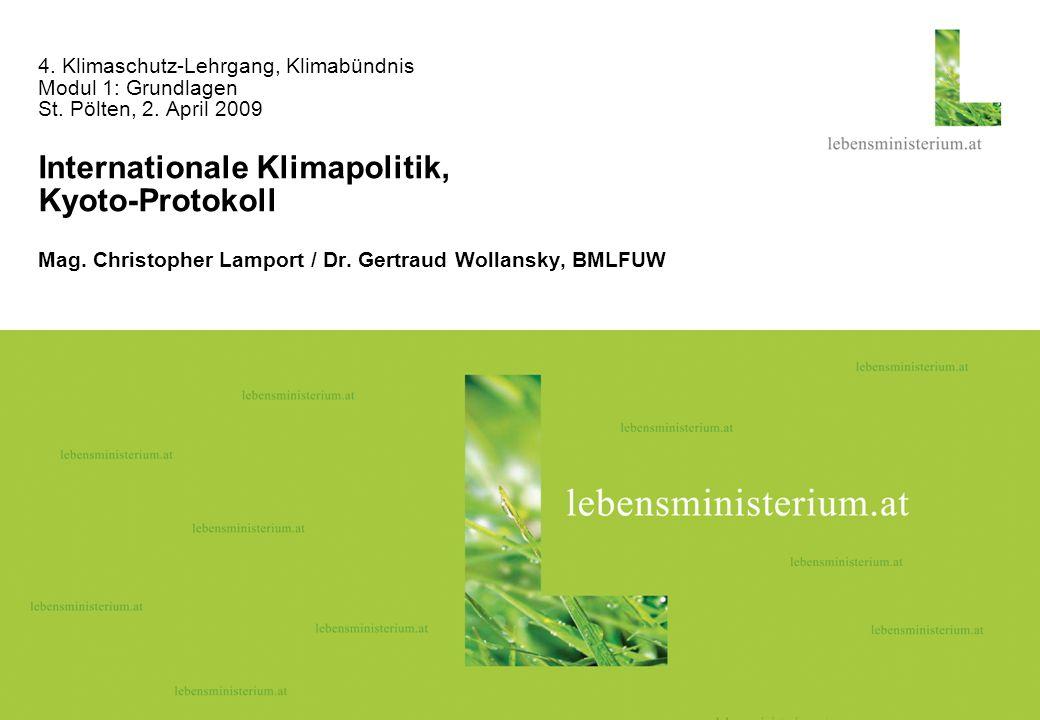 Seite 126.04.2014 4.Klimaschutz-Lehrgang, Klimabündnis Modul 1: Grundlagen St.