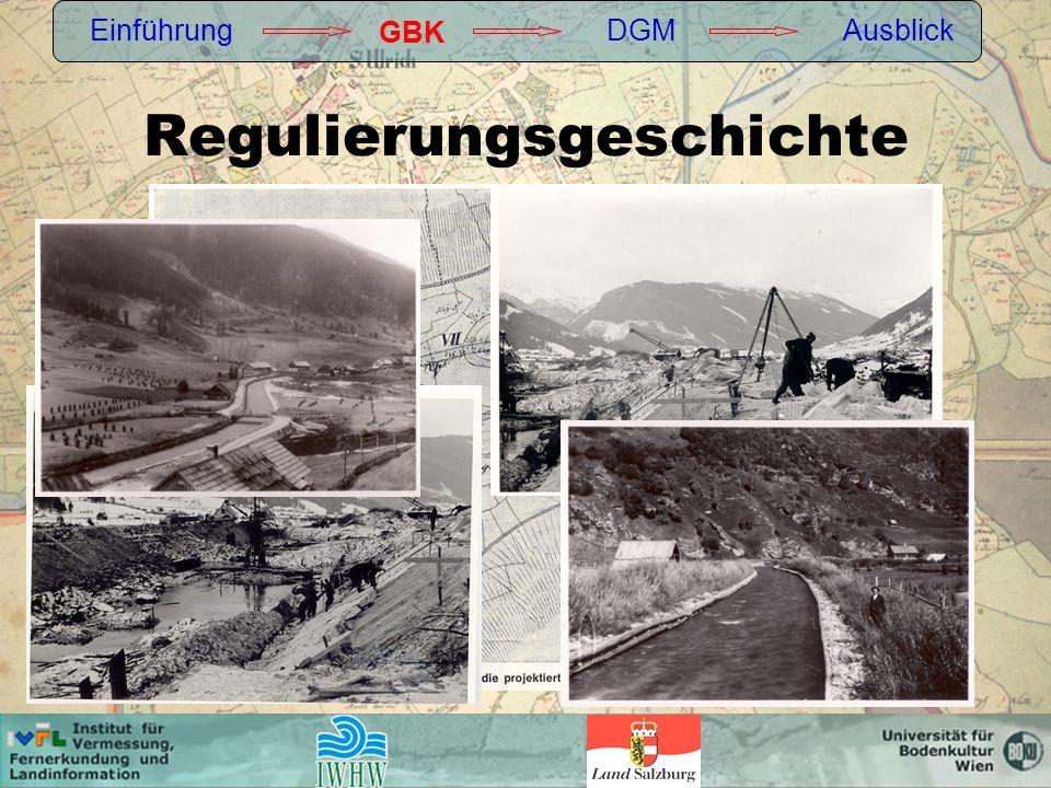 Regulierungsgeschichte Einführung GBK DGMAusblick