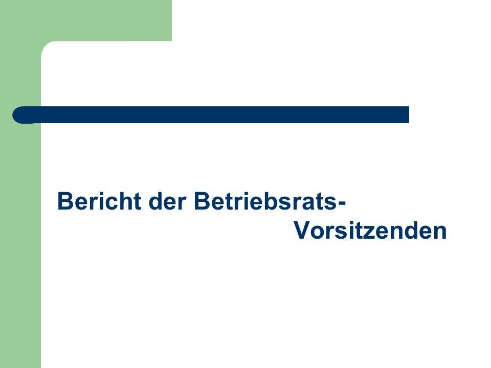 Schlussbestimmungen Differenzen sind unter Miteinbeziehung des Betriebsrates zu klären Betriebsvereinbarung über die Lage der Mittagspause vom 15.