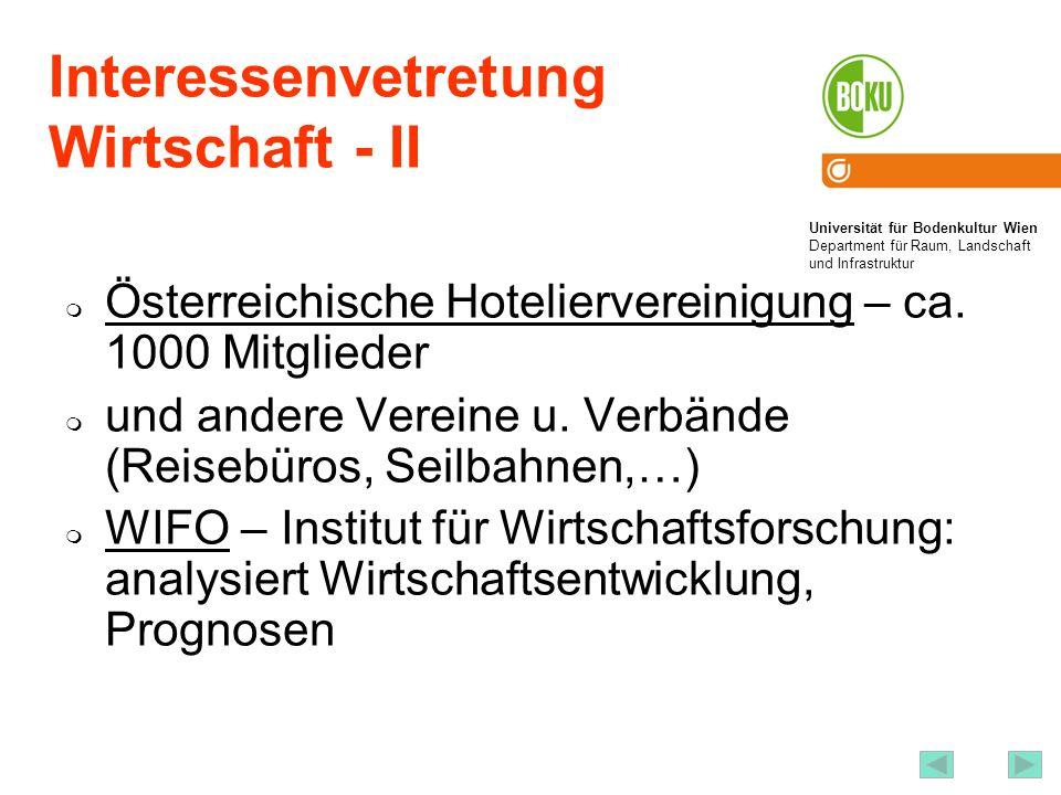 Produktentwickung, Marketing Österreich Werbung Landestourismusorganisationen http://wko.at/bstf/links.htm#Tourismusverb%E4nde regionale Tourismusverbände lokale Tourismusverbände