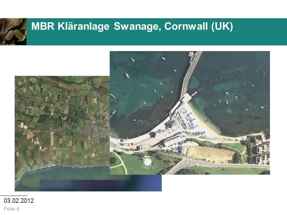 03.02.2012 Folie 4 MBR Kläranlage Swanage, Cornwall (UK)