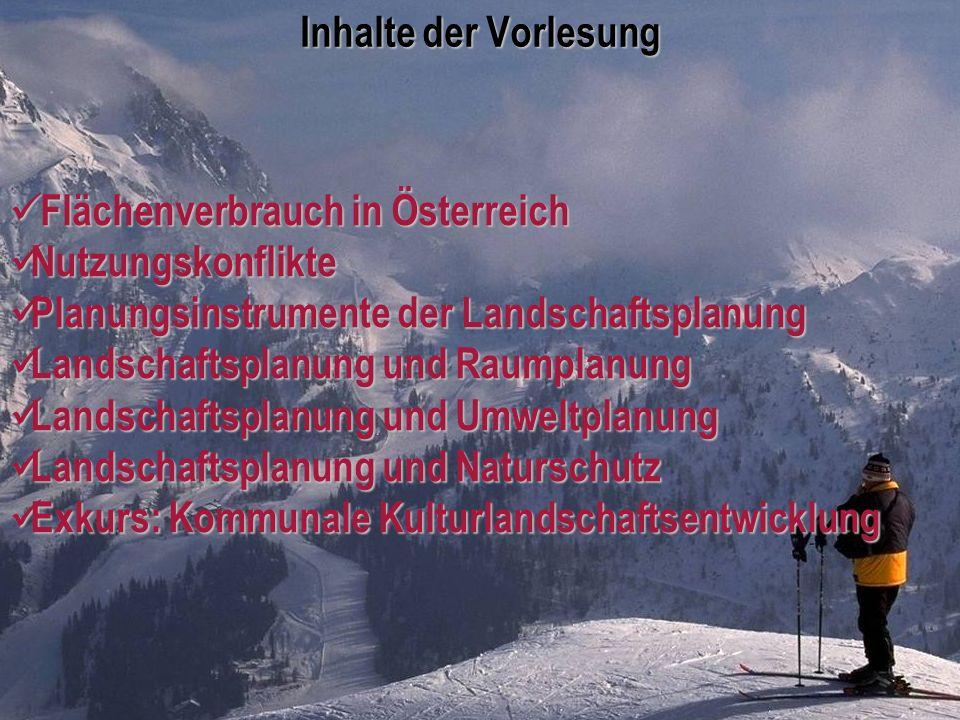 Universität für Bodenkultur Wien Department für Raum, Landschaft und Infrastruktur IRUB VO Raumordnung, Recht- und Planungsinstrumente Folie 1 Inhalte