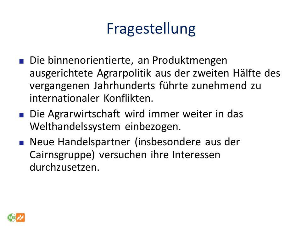 Contra Globalisierung - Thesen Der freie Warenaustausch untergräbt die Multifunktionalität von Produktion.