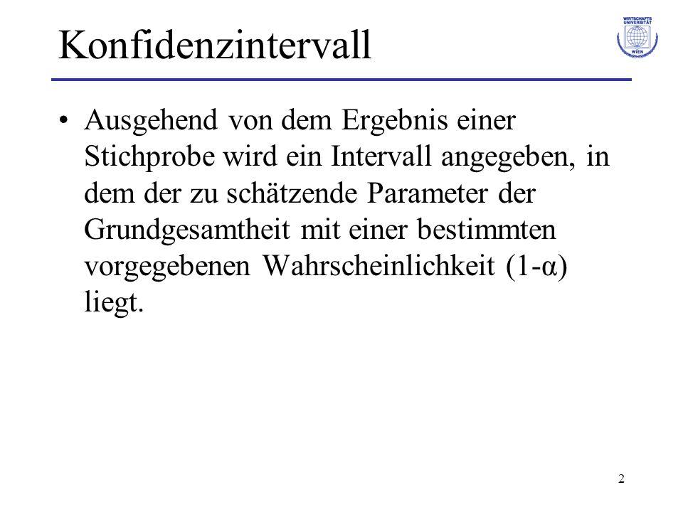 3 Konfidenzintervall Bsp.Arithmetisches Mittel (ist bei N-Vt.