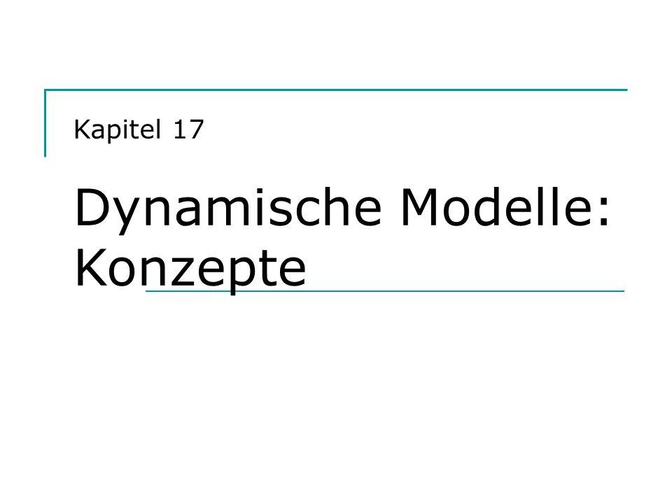 Kapitel 17 Dynamische Modelle: Konzepte