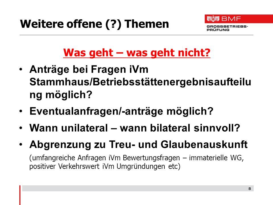 9 Es gibt für (fast) alles eine Lösung.Herzlichen Dank für Ihr Interesse Gerhard Steiner Fragen??.