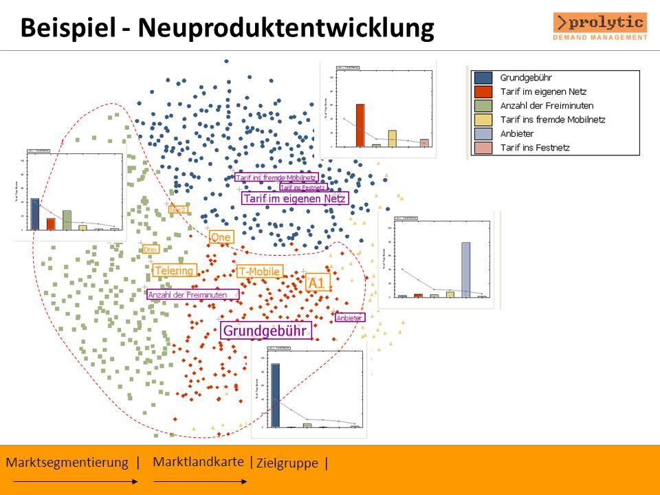 Beispiel - Neuproduktentwicklung Zielgruppe | Marktsegmentierung | Marktlandkarte |