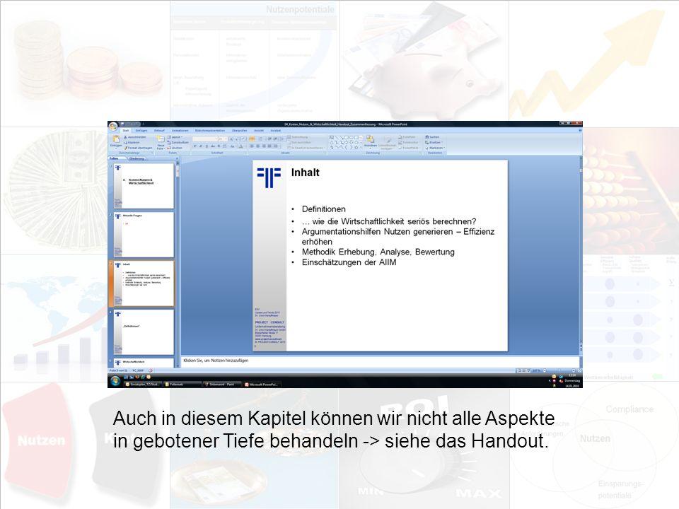 4 EIM Update und Trends 2010 Dr.Ulrich Kampffmeyer PROJECT CONSULT Unternehmensberatung Dr.