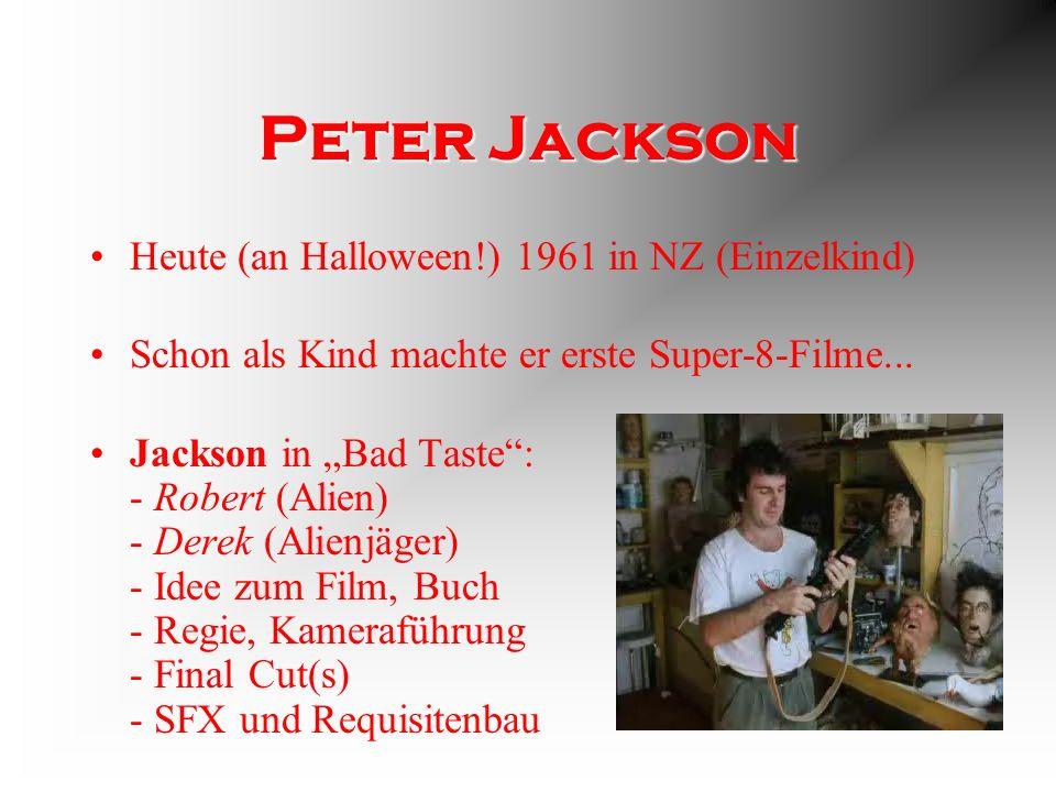 Charakter Jacksons typische Mischung aus Splatter, Gore und skurrilem Humor Ein Lacher für jeden Bluttropfen Inspiriert von Dawn of the Dead Ähnlichkeiten zu anderen P.