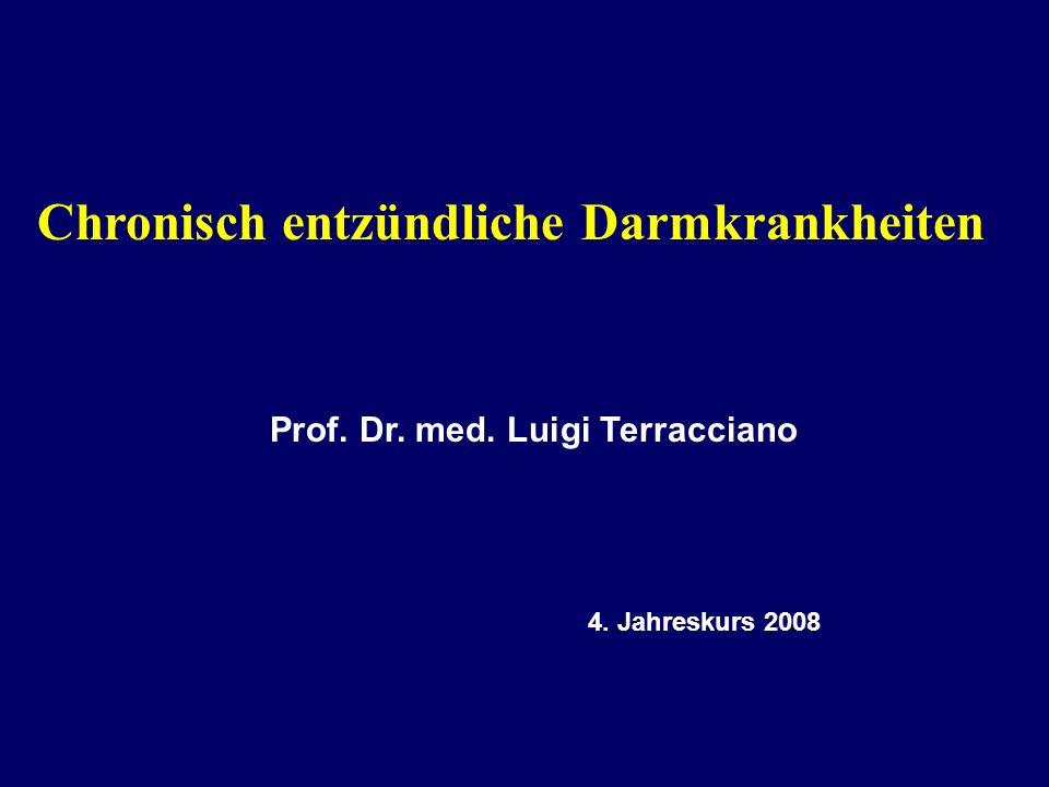 Chronisch entzündliche Darmkrankheiten Prof. Dr. med. Luigi Terracciano 4. Jahreskurs 2008