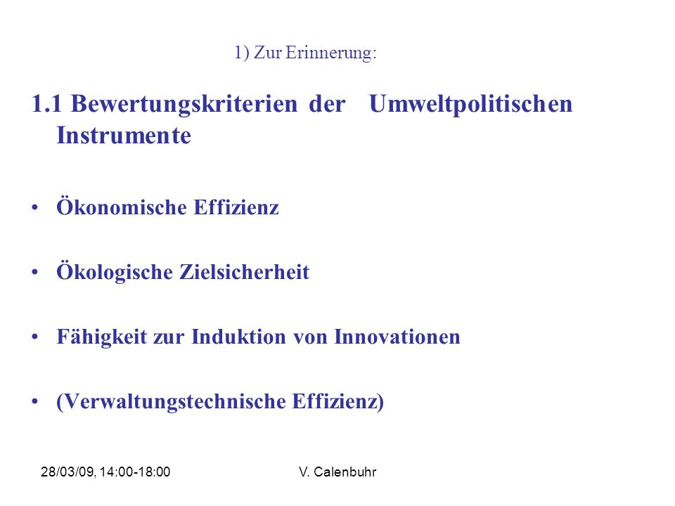 28/03/09, 14:00-18:00V. Calenbuhr